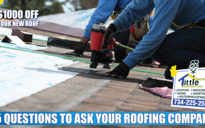 Ask These 15 Questions to Find the Best Roofing Company in Michigan