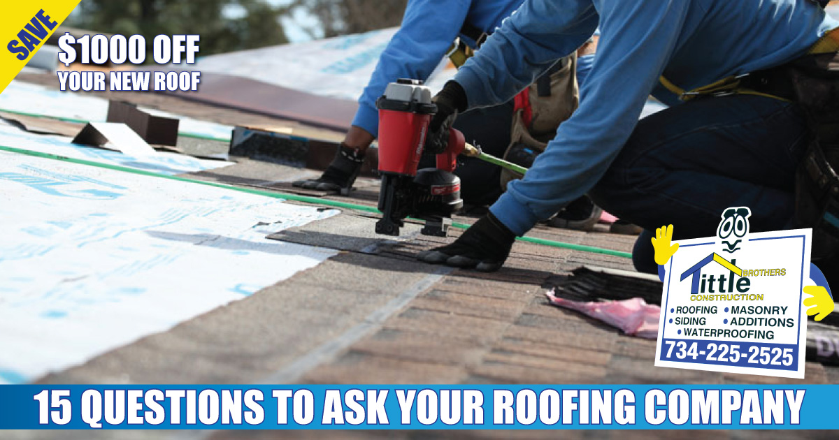 15 Questions to Ask Your Roofer