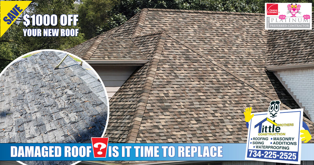 When It's Time to Get a New Roof for Michigan Homeowners